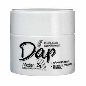 Desodorante Creme Dap Pote Sem Perfume 55g