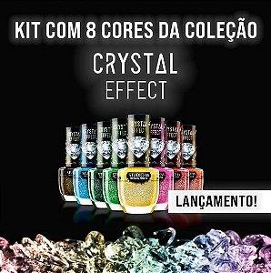Coleção Crystal Effect 8 Cores