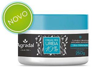 Creme Agradal Pés Ureia 10% 250gr