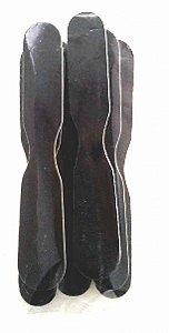 Lixa para Unhas Gravatinha Preta Com 06 Unidades