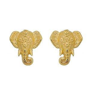 Brinco Elefante Mini Relevo