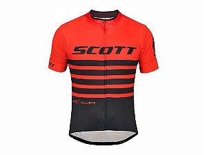 Camisa Scott RC Team 20 Vermelho e Preto