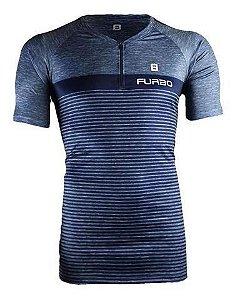 Camisa Furbo Masculino Free Action Rischio Azul