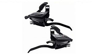 Trocador 3x7V Shimano Altus EF500