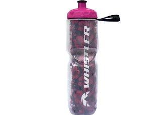 Caramanhola Termica 710ml Whistler Havai Rosa e Vermelho