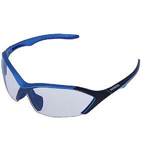 Óculos Shimano S71X-PH Azul Metalico Fosco
