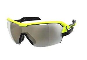 Óculos Scott Spur Amarelo e Preto Lente Amarelo Espelhado