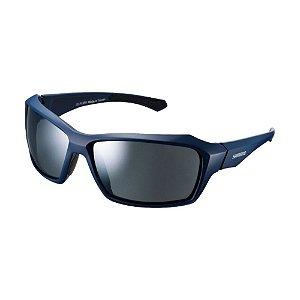 Óculos Shimano CE-PLSR1-MR Azul Escuro e Cinza Espelhado