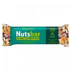 Barra Nutsbar 25g Castanha, Coco e Nibs de Cacau
