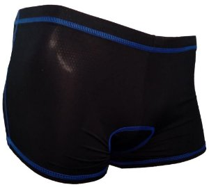 Cueca Shorts Valfoorza Masculina Preta