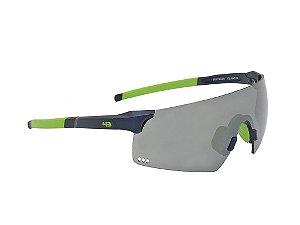 Oculos HB Quad R Matte Navy Silver