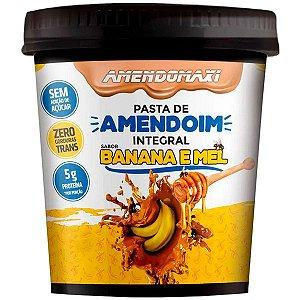 Pasta de Amendoim 500g Integral Banana e Mel