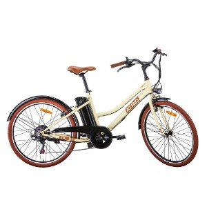 Bicicleta Aro 26 Eletrica Atrio Miami 6V Bege