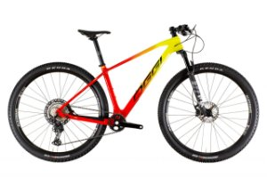 Oggi Agile Pro XT Carbono Vermelho, Amarelo e Preto
