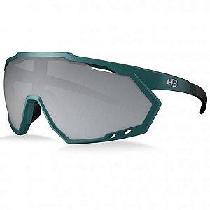 Óculos HB Spin Grad Dark Green Silver Cristal