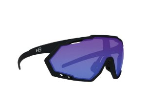 Óculos HB Spin Matte Black Blue Red Chrome
