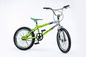 Bicicleta Aro 20 DNZ Freestyle Cross Verde