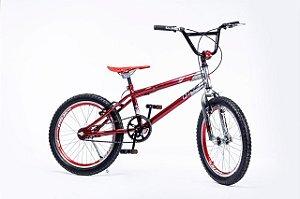 Bicicleta Aro 20 DNZ Freestyle Cross Vermelho