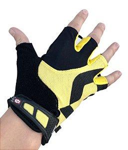 Luva Scott Essential Sf 15 D Curto Preto Amarelo