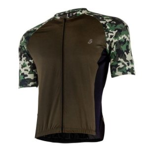 Camisa Savancini Masculina Militar Marrom/Verde