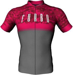 Camisa Furbo Unissex Solider Rosa/Cinza