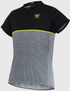 Camisa Free Force Infantil First Mescla/Preto