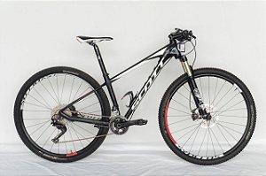 Bicicleta Aro 29 Usada Scott 910 22V T.S Preto/Branco