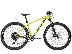 Bicicleta Aro 29 Scott Scale 980 (2020) Amarelo/Preto