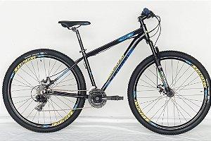 Bicicleta Aro 29 Redstone Taipan 21V Azul/Amarelo
