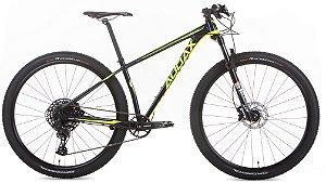 Bicicleta Aro 29 Audax AUGE 555 SX (2020) Preto/Amarelo