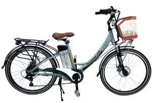 Bicicleta Aro 26 Magias Italiane July Verde (2020) Eletrica Litio