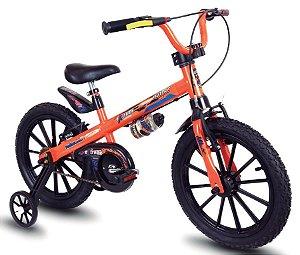 Bicicleta Aro 16 Nathor Extreme Laranja/Preto
