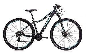 Mountain Bike Aro 29 Oggi Float 5.0 (2020) Preta/Azul
