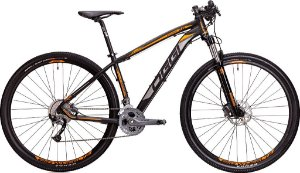 Mountain Bike Aro 29 Oggi Big Wheel 7.2 Grafite/Laranja