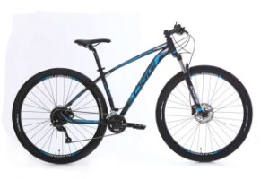 Bicicleta Aro 29 Oggi Big Wheel 7.0 (2020) Preto/Azul/Branco
