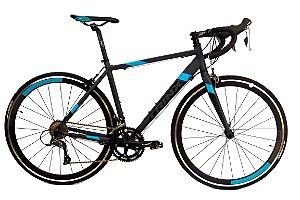 Bicicleta Aro 700 Trinx Speed Tempo 3.0 Cinza/Preto/Azul