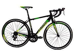 Bicicleta Aro 700 Trinx Speed Tempo 3.0 Cinza/Preto/Verde HC0506785