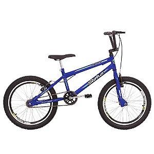 Bicicleta Aro 20 Status Cross Aero Azul Real