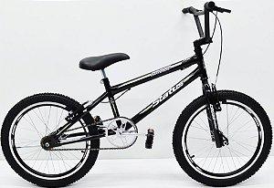 Bicicleta Aro 20 Status Cross Aero Masc Preto Fosco
