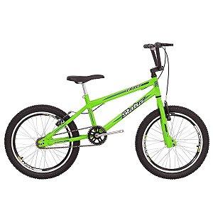 Bicicleta Aro 20 Status Cross Aero Verde Neon