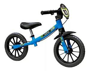 Bicicleta Aro 12 Balance Nathor Masculina 03 Azul/Preto