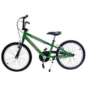 Bicicleta Aro 20 Nathor Army Aro Aluminio Verde