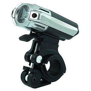 Farol 300 Lumens Raypal USB Preto/Cinza RPL