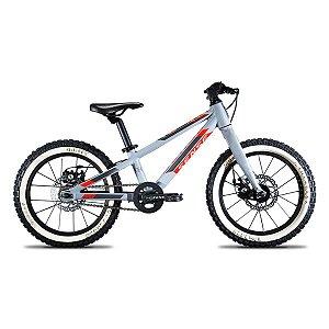 Bicicleta Aro 16 Sense Impact Cinza e Vermelho