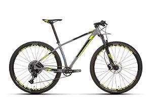 Bicicleta Aro 29 Sense Impact SL (2020) Cinza/Amarela