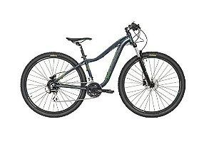 Bicicleta Aro 29 Caloi Kaiena Comp (2020) Chumbo/Verde