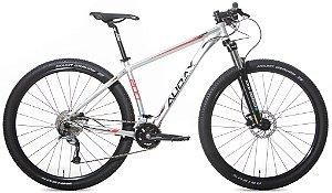 Bicicleta Aro 29 Audax ADX 200 (2020) Prata/Vermelho