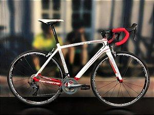 Bicicleta Aro 700 Usada Lapierre Speed 22V T54 Branco/Vermel