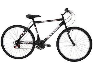 Bicicleta 26 Houston Foxer Hammer 21V Preto