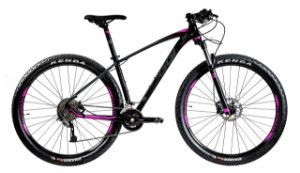 Bicicleta Aro 29 Oggi Big Wheel 7.2 18V (2020) Preto/Pink/Grafite